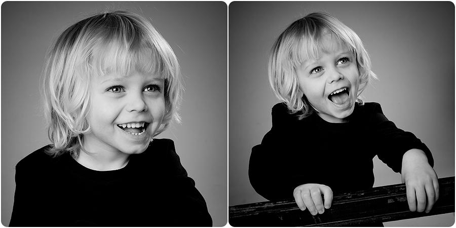 Barn, Studio, Wilmer, Svartvitt, Porträtt